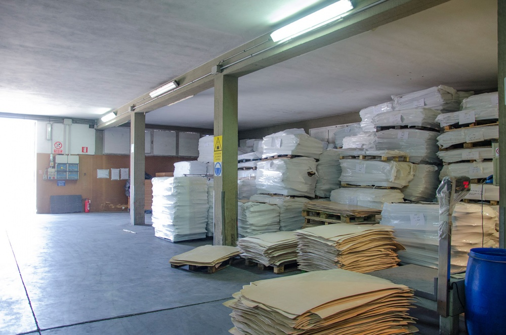Our leather warehouse