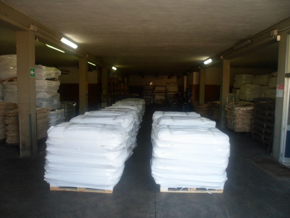 Pallets ready to ship